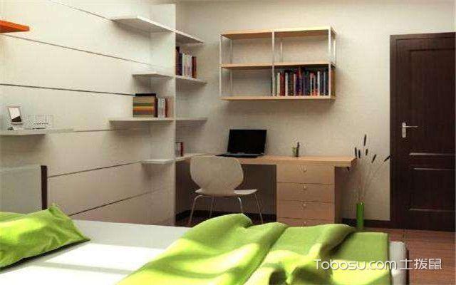 学生房间书桌风水布局精美图