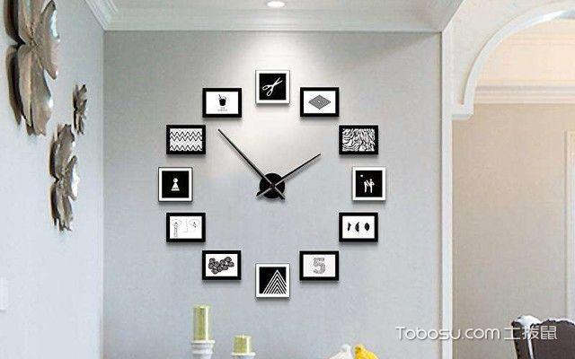 卧室钟表摆放风水效果图