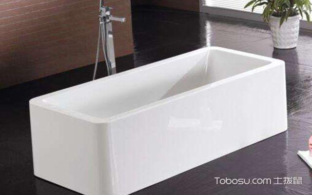 如何去除亚克力浴缸的味道—浴缸图1