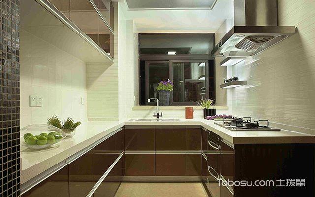 厨房灶台尺寸案例图1