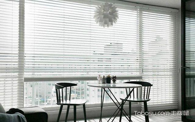 阳台百叶窗帘效果图风格