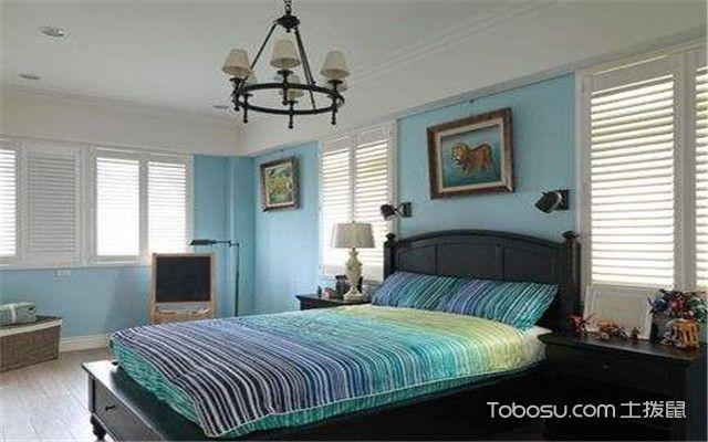 卧室背景墙装修案例卧室图
