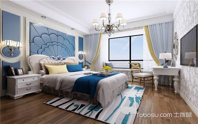 卧室背景墙装修案例精美图