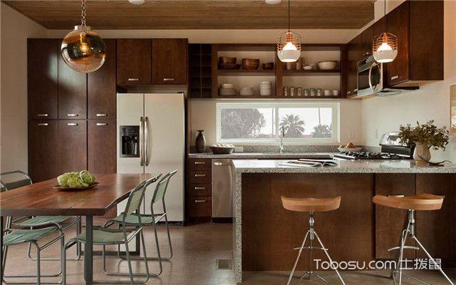开放式厨房吊顶怎么做