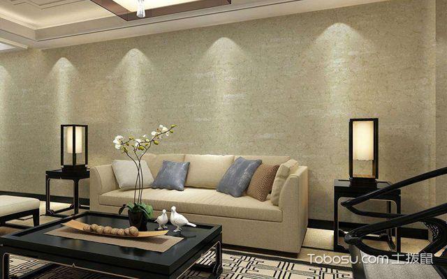 仿瓷墙面能贴壁纸吗