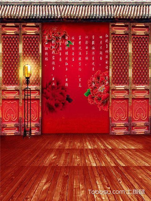 中式风格影楼装修设计