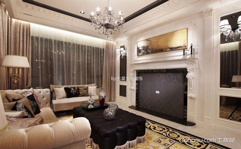 精选客厅装饰效果图,每一种风格都有魅力