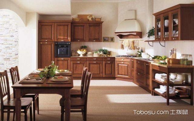 传统中式风格厨房效果图