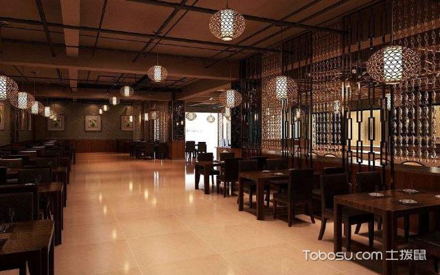 100平米火锅店装修风格