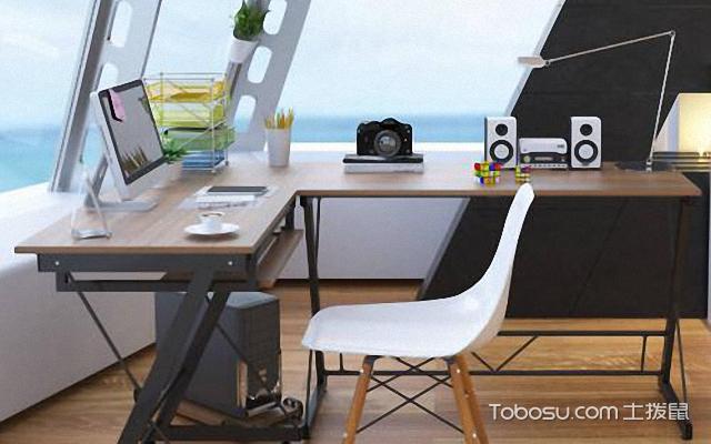 家用个性转角办公桌设计思路