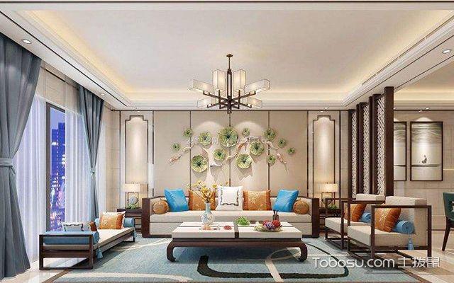客厅窗帘颜色怎么选案例图2