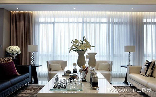 客厅窗帘颜色怎么选案例图3