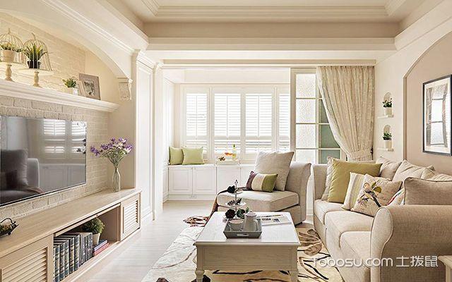 客厅窗帘颜色怎么选案例图4