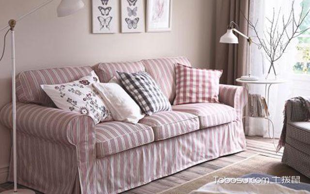 沙发罩的样式图片2