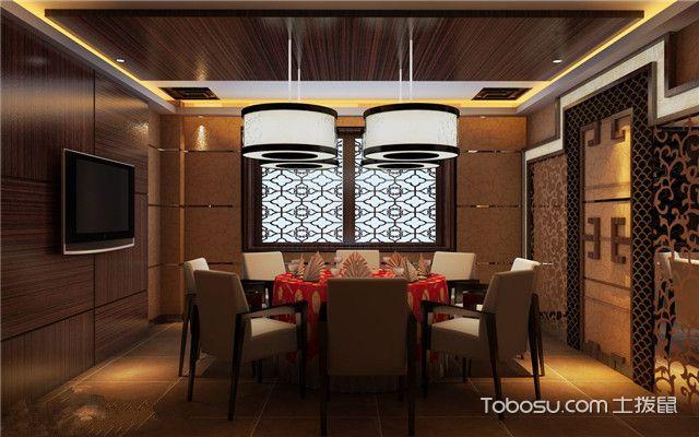 中餐馆装修效果图