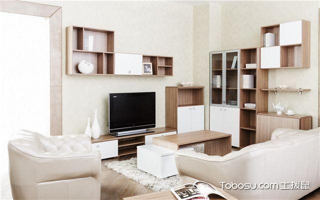 小户型全屋定制家具设计客厅