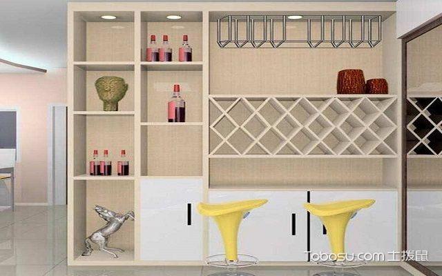 家庭室内装修酒柜用什么材质好