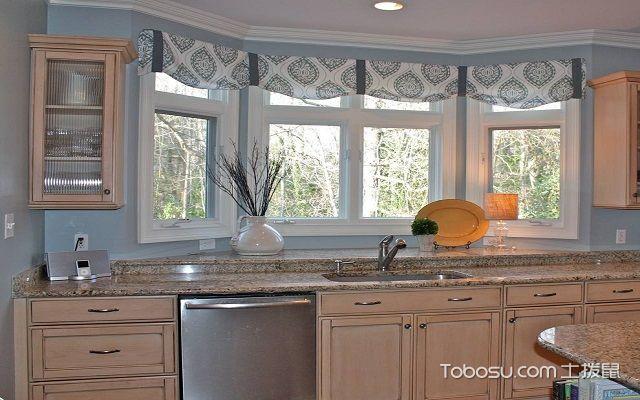 选择厨房用什么窗帘好