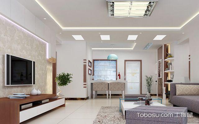 客厅吊顶材料有哪些—石膏板吊顶