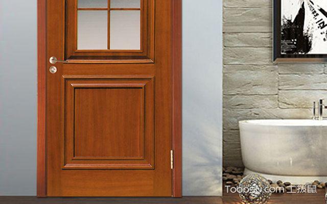 卫生间门用什么材质好—木门