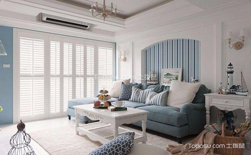 唯美75平米新房装修,感受海风的温柔浪漫