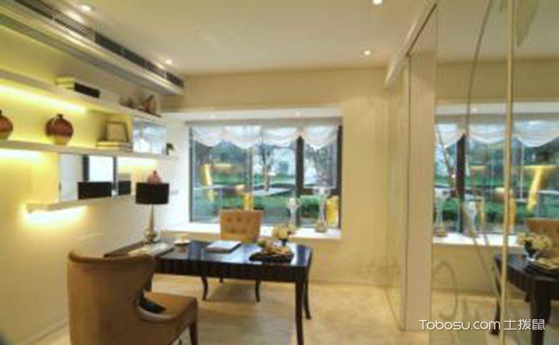 清爽个性一室一厅现代风格装修效果图