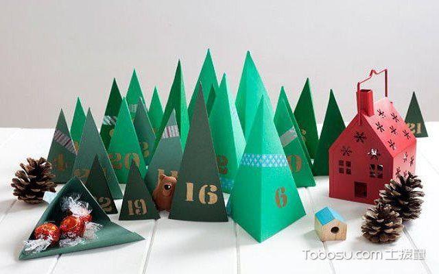 利用卡纸diy客厅装饰品