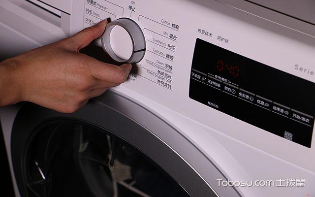 三洋滚筒洗衣机_土拨鼠装修经验