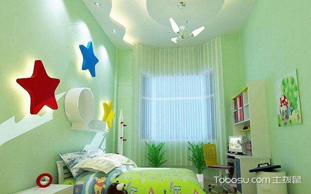 儿童房房顶装修设计元素