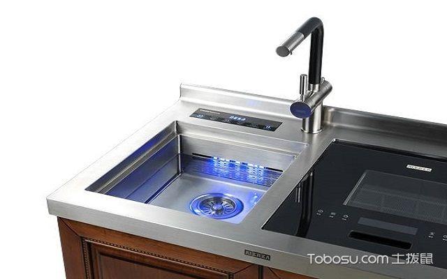 美的水槽洗碗机优点