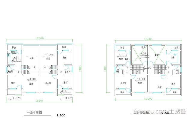 家庭房屋设计图