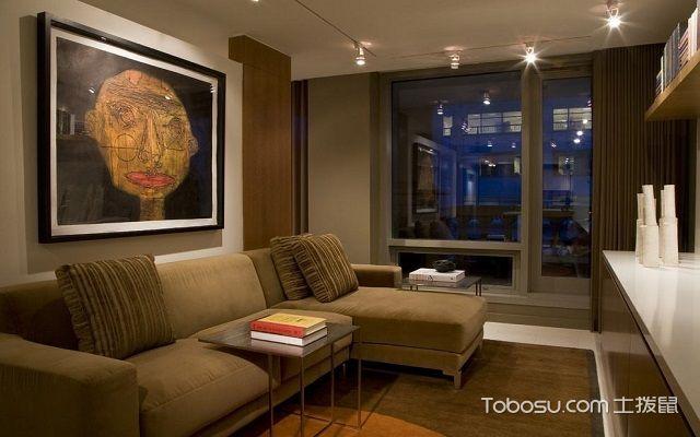 60平米两室一厅装修设计