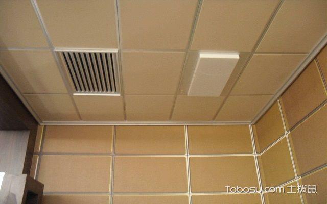 客厅吊顶扣板怎么拆