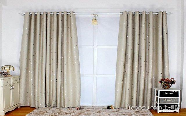 窗帘杆安装方法图解