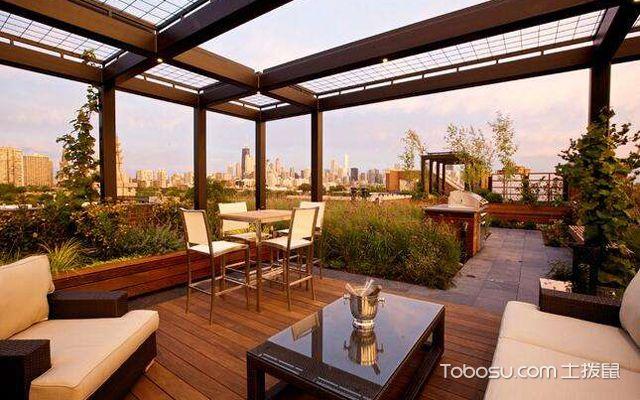 屋顶露台设计