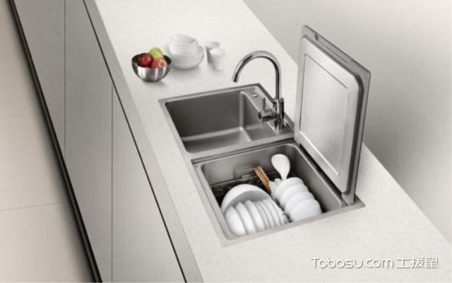 美的水槽洗碗机配图