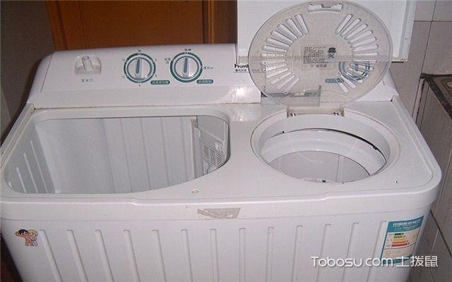 双桶洗衣机清洁小窍门