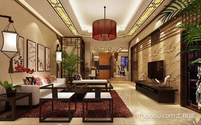 客厅装修中式风格