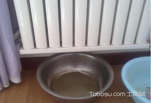铝暖气片漏水怎么粘住