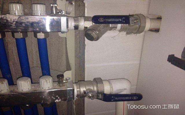 家庭地热回水管不热正常吗