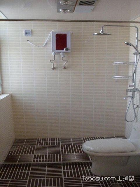 卫生间挡水条效果图