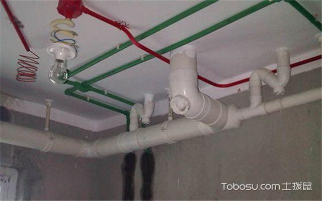 卫生间冷热水管安装图