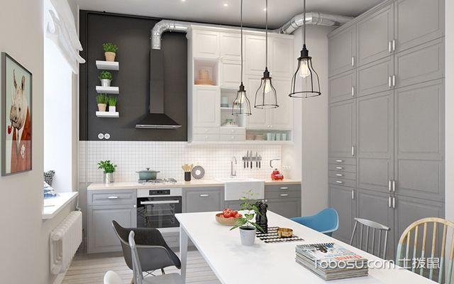 小三房装修效果图厨餐厅