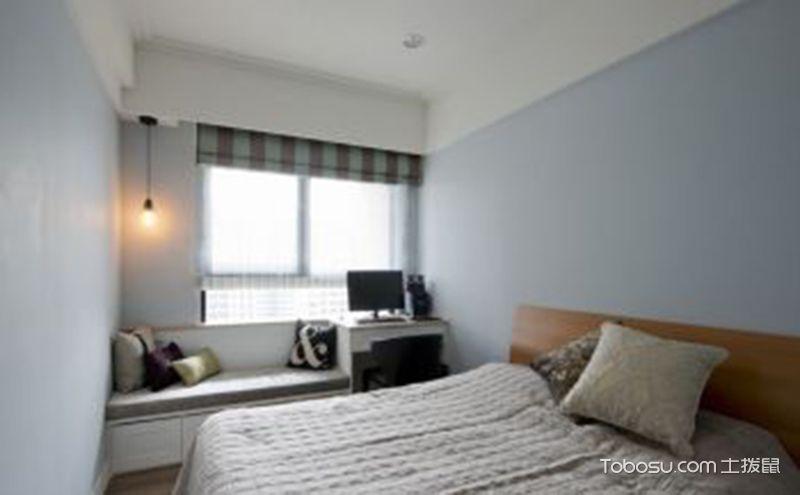 卧室美式风格装修效果图,让生活简单一点