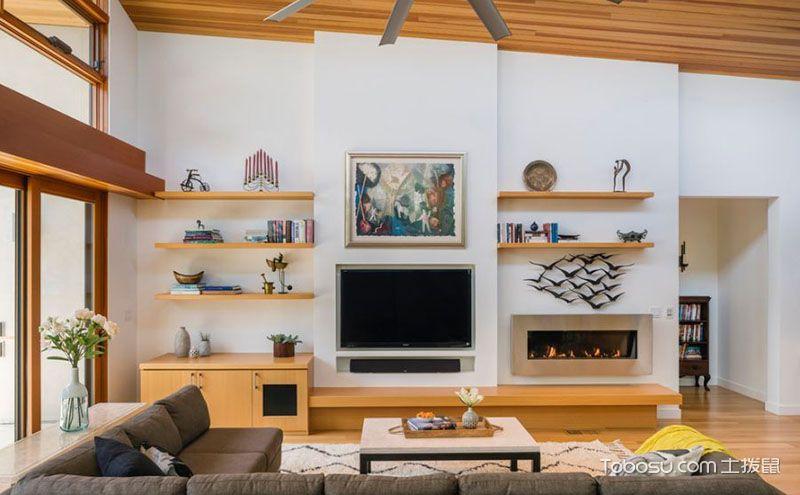 电视墙背景效果图,不同风格带来不同风景