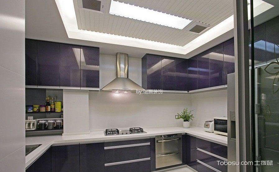 简约风格厨房吊顶效果图,简单却也别致