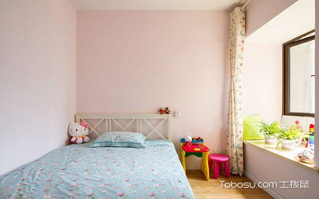 普通三室两厅装修图儿童房