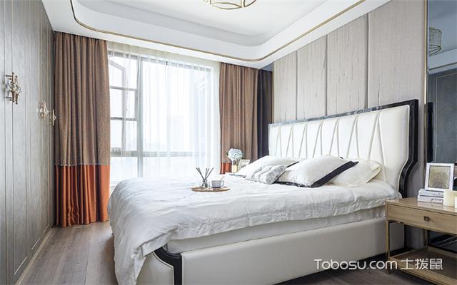 卧室窗帘2018新款图片