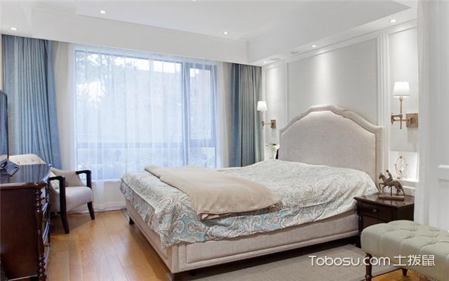卧室窗帘图片