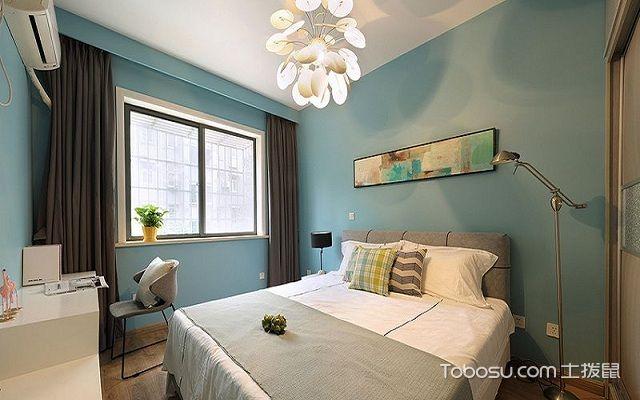 50平公寓装修效果图主卧